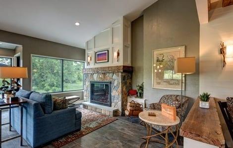 Garrison Fireplace Lobby